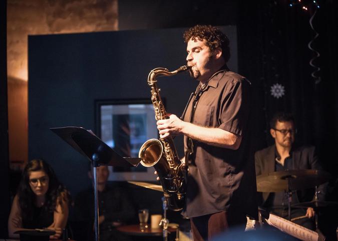 Steve Treseler performing at Egan's Ballard Jam House in Seattle.