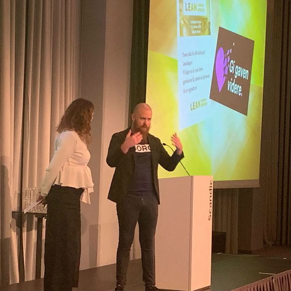 Hvorfor Lean Forum Bergen benyttet Gi Gaven Videre som gave til sine foredragsholdere