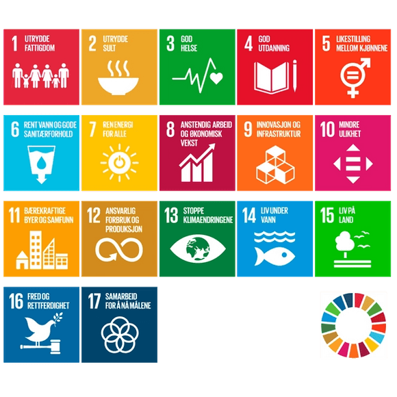 Vårt fokus på bærekraft