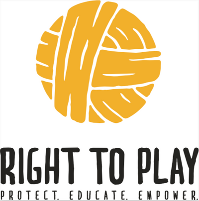 Right To Play! logo