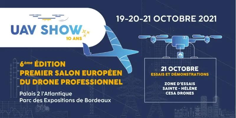 UAV Show Bordeaux 2021