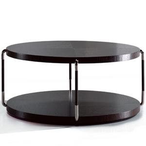 Suo table in dark brown