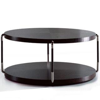Suo table in dark brown