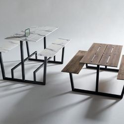 Tables in studio