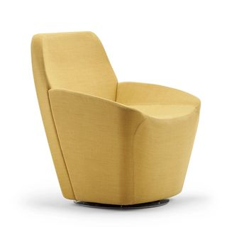 Yellow dock lounge chair