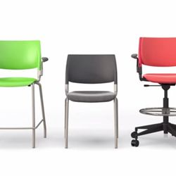 Nima chair in multiple colors