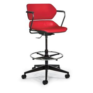 Red Acton chair