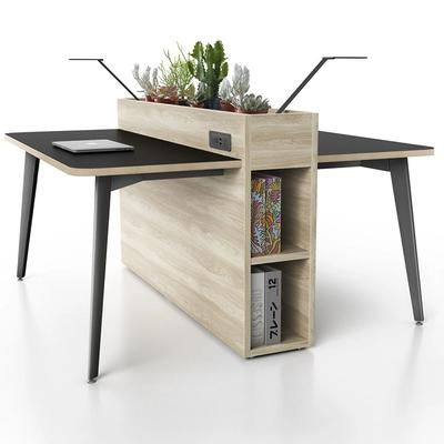 WorkStop in dark wood