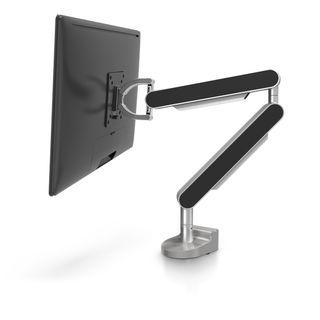 Black monitor arm