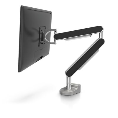 Black monitor arm