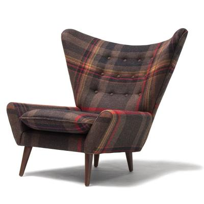 Louis II Chair in multiple colors front side profile