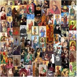 Collage van heiligen