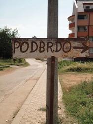 Wegwijzer naar de Podbrdo