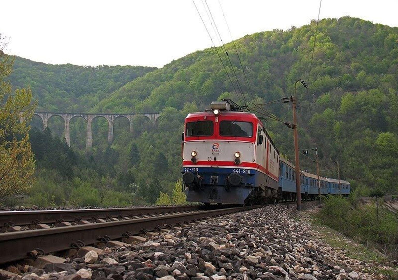 Viaduct bij Mostar