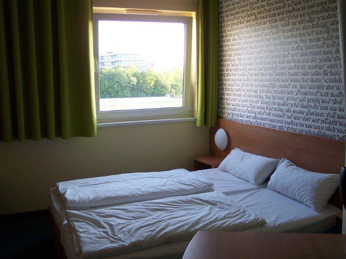 Slaapkamer in het B&B hotel