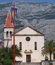De H. Marcuskathedraal in Makarska