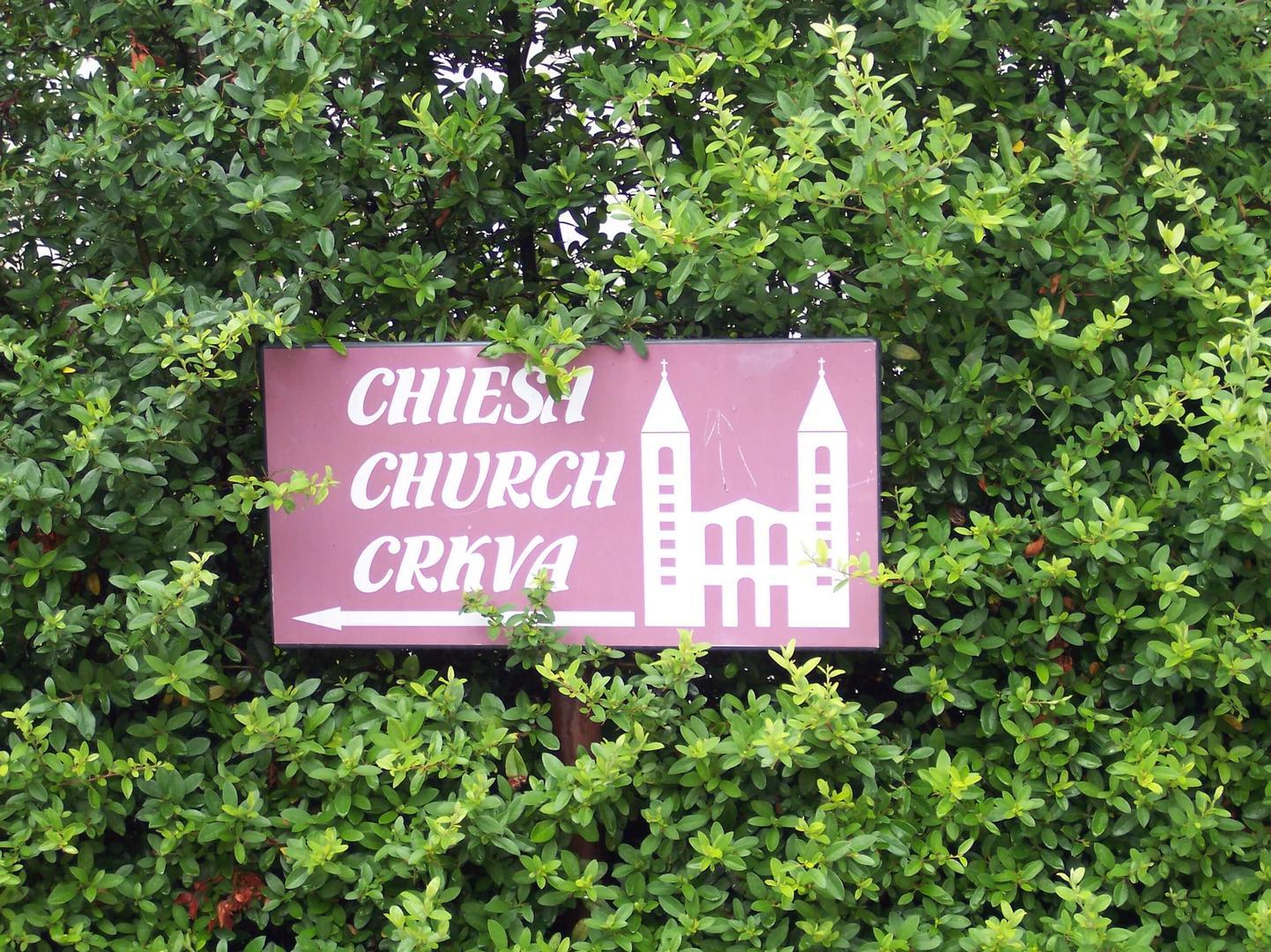 Wegwijzer naar de Kerk