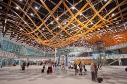 De terminal van de luchthaven van Split