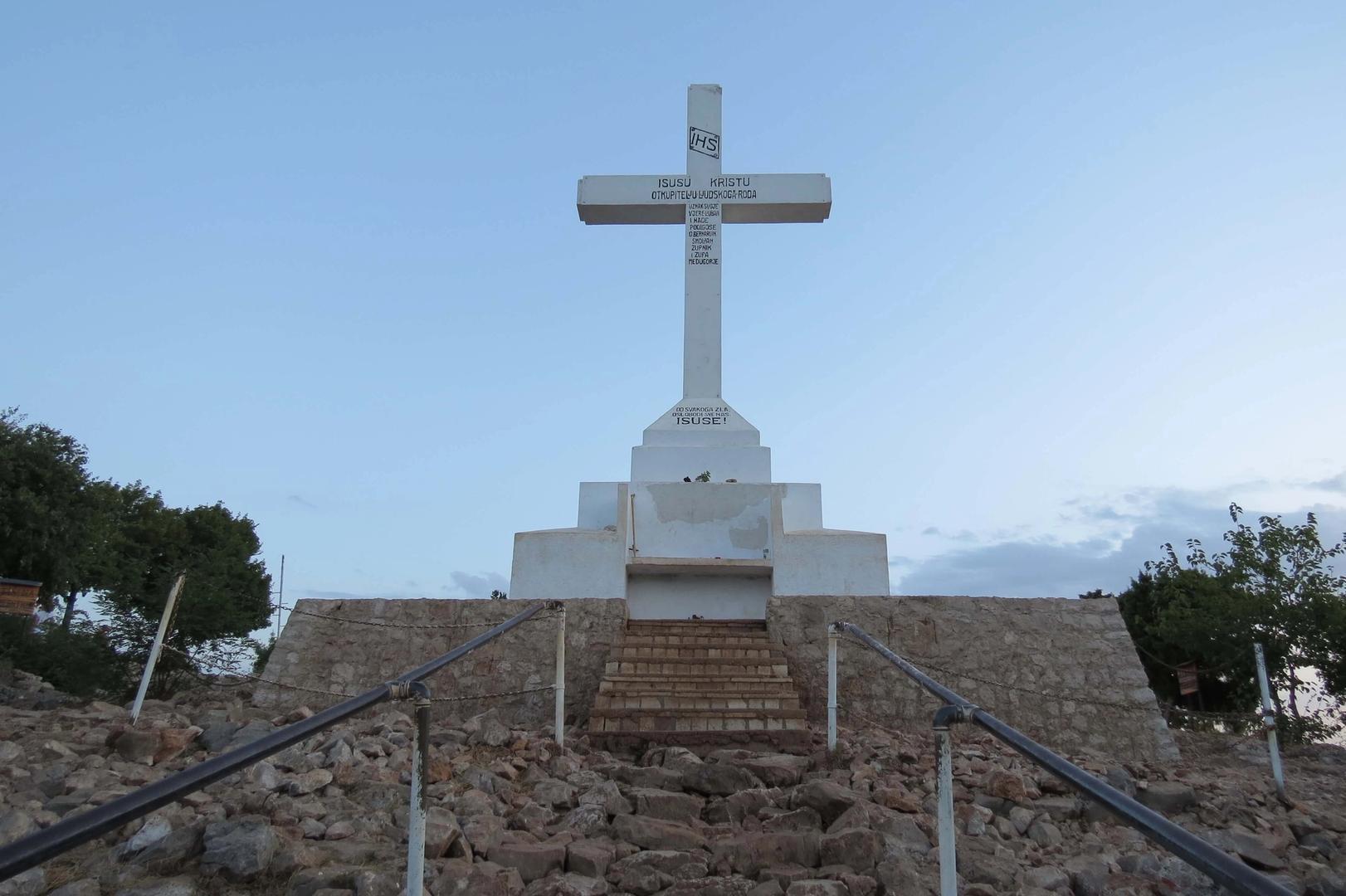 Het kruis bovenop de Kruisberg
