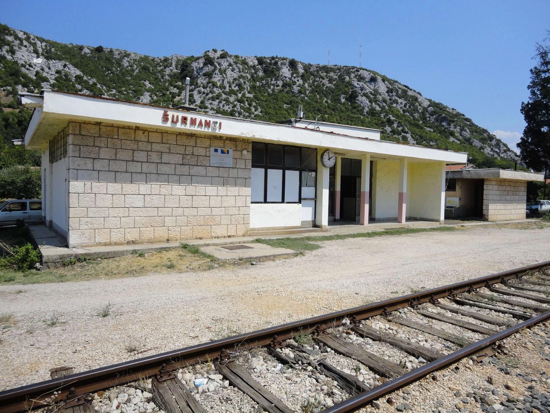 Het treinstation van Surmanci (Medjugorje)