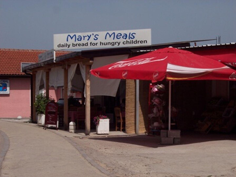 De vestiging van Mary's Meals in Medjugorje