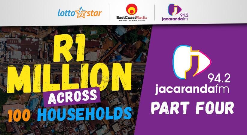 Part 4   LottoStar & Jacaranda FM contribute R1 Million to families in need