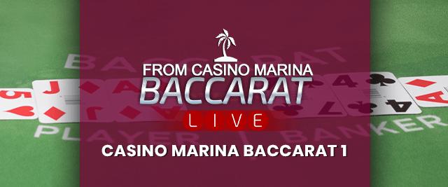 Casino Marina Baccarat 1