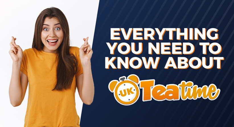 EVERYTHING YOU NEED TO KNOW ABOUT THE UK 49'S TEATIME LOTTERY!