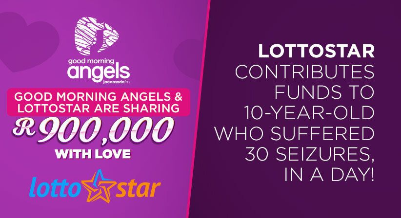 LOTTOSTAR CONTRIBUTES FUNDS TO 10-YEAR-OLD WHO SUFFERED 30 SEIZURES, IN A DAY!