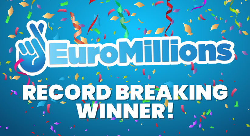 EuroMillions' Record-Breaking winner walks away with over R2.7 Billion