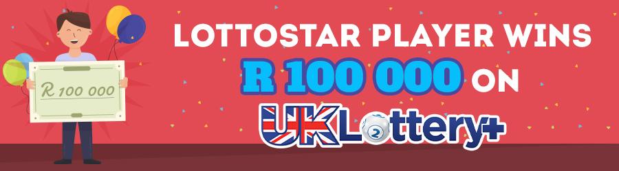 Lucky LottoStar Player Wins R100 000!