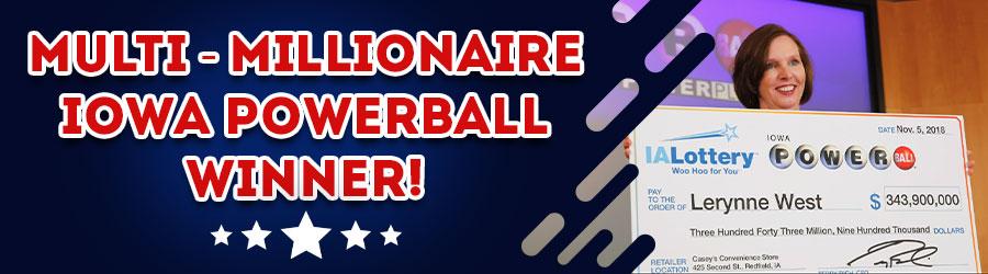 Iowa Powerball Winner!