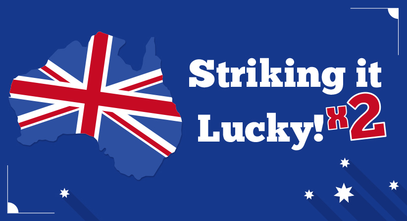 Melbourne man buys two Oz Lotto jackpot winning tickets