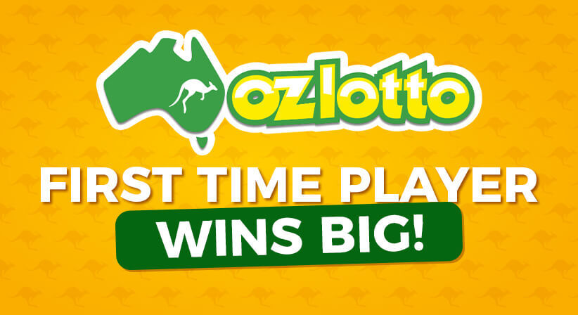 FIRST TIME LOTTERY PLAYER WINS $50 MILLION IN THE OZ LOTTO DRAW