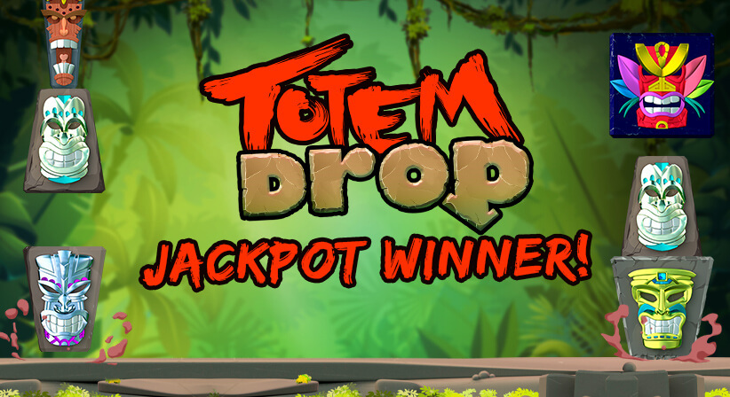 Totem Drop Jackpot Winner