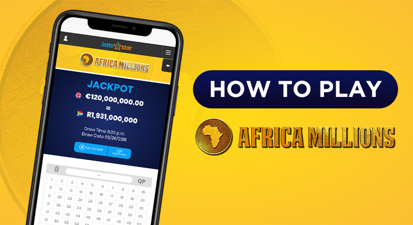 How to Bet on the Africa Millions on LottoStar