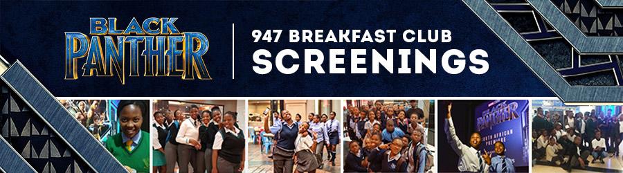 947 Breakfast Club Black Panther Screenings