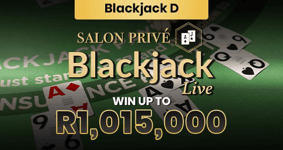 Salon Prive Blackjack D