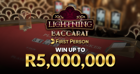 First Person Lightning Baccarat
