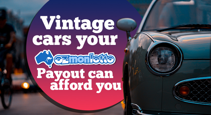 The most stylish vintage cars your Oz Monday Lotto payout can afford you