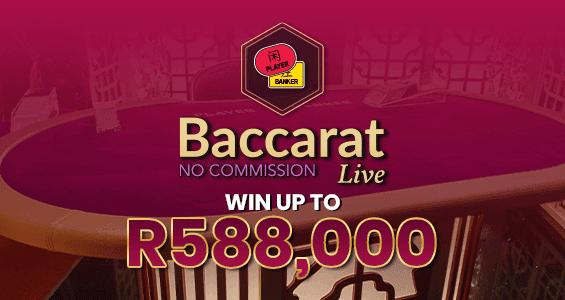 No Comm Baccarat Live
