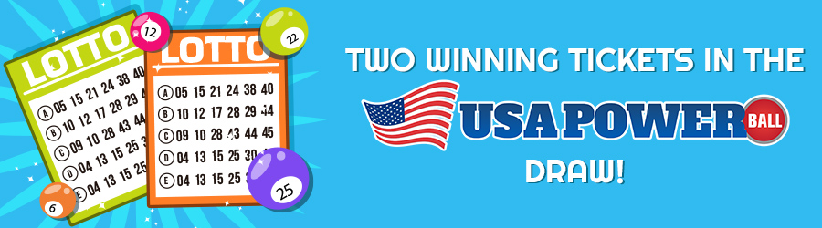 Two Winning Tickets in the Powerball draw!