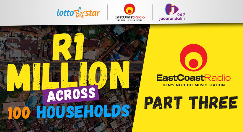 Part 3 | LottoStar & East Coast Radio contributes a share of R1 million to households in need