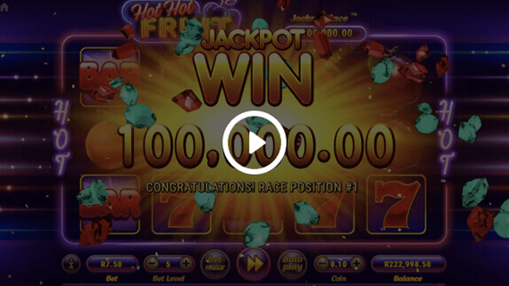The Reel Jackpot Race