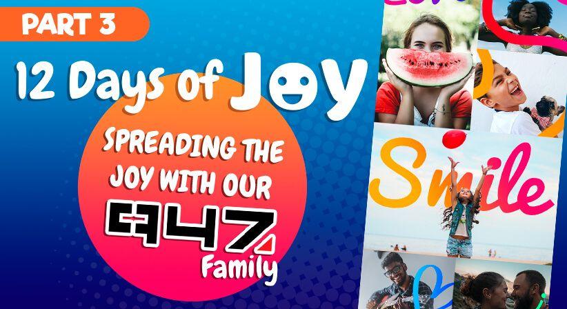 PART 3 | LOTTOSTAR & 947'S 12 DAYS OF JOY