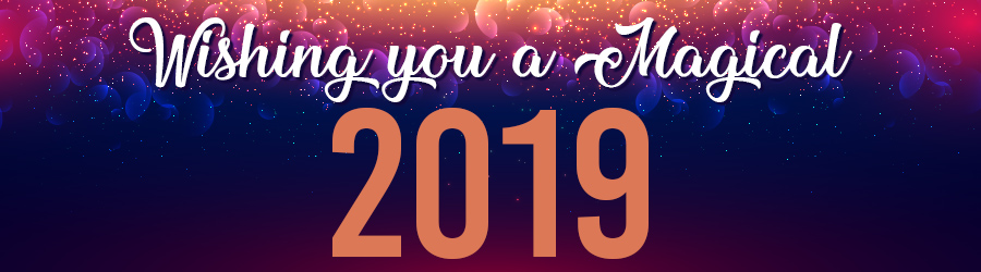 Lottostar wishes you a magical 2019!