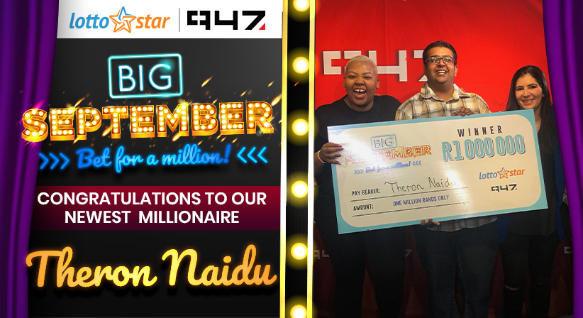 Congratulations to South Africa's newest Millionaire!