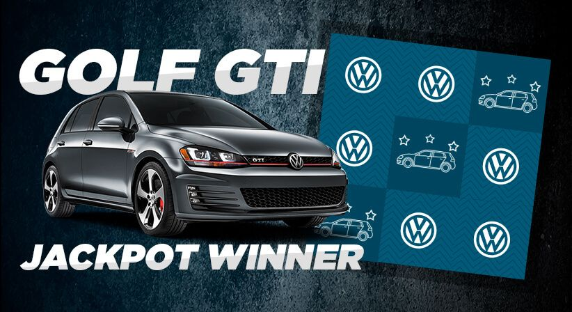 MEET OUR GOLF GTI JACKPOT WINNER!