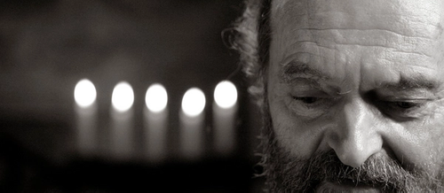 Photo portrait of Arvo Pärt