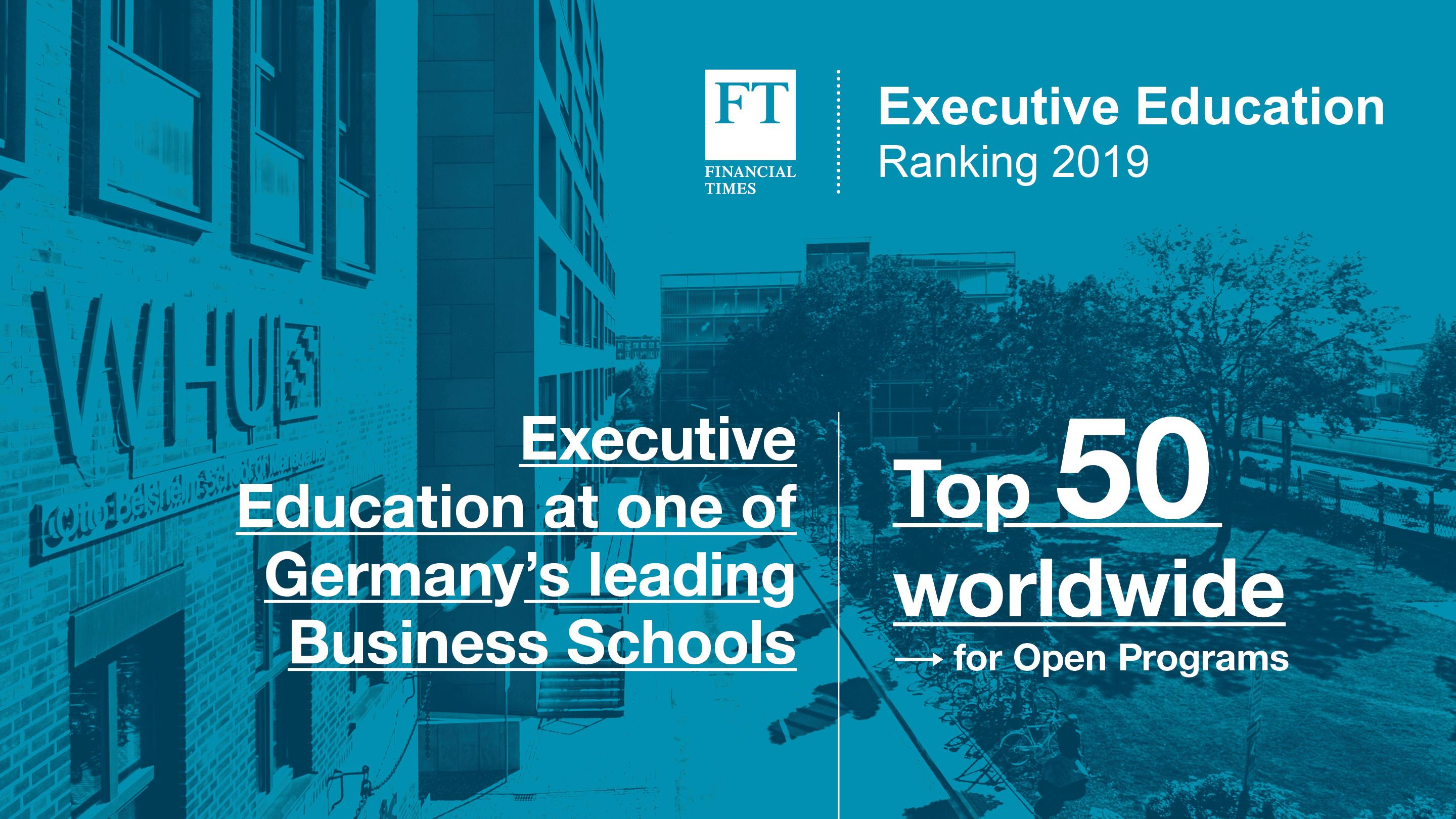 Financial Times Executive Education Ranking 2019